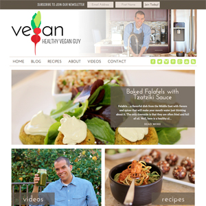 Healthy Vegan Guy Vegan Food Blog