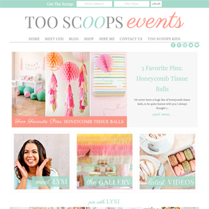Too Scoops Events Event Blog