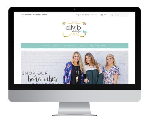 Ally B Boutique - Jelly Design Studio