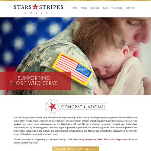 Stars and Stripes Doulas