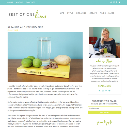 Zest of One Lime